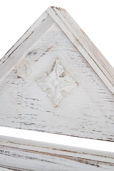 Häufig Wandhängeschrank shabby chic weiß Holz | elbmöbel XW67