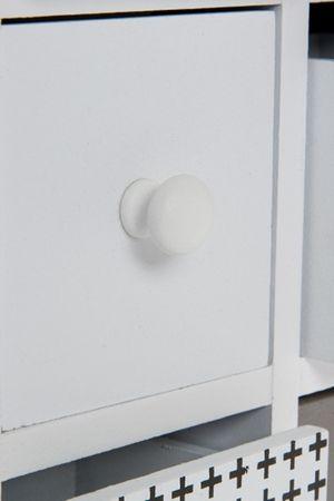 Minikommode Schmuckkommode Holz Tischkommode Retro Design