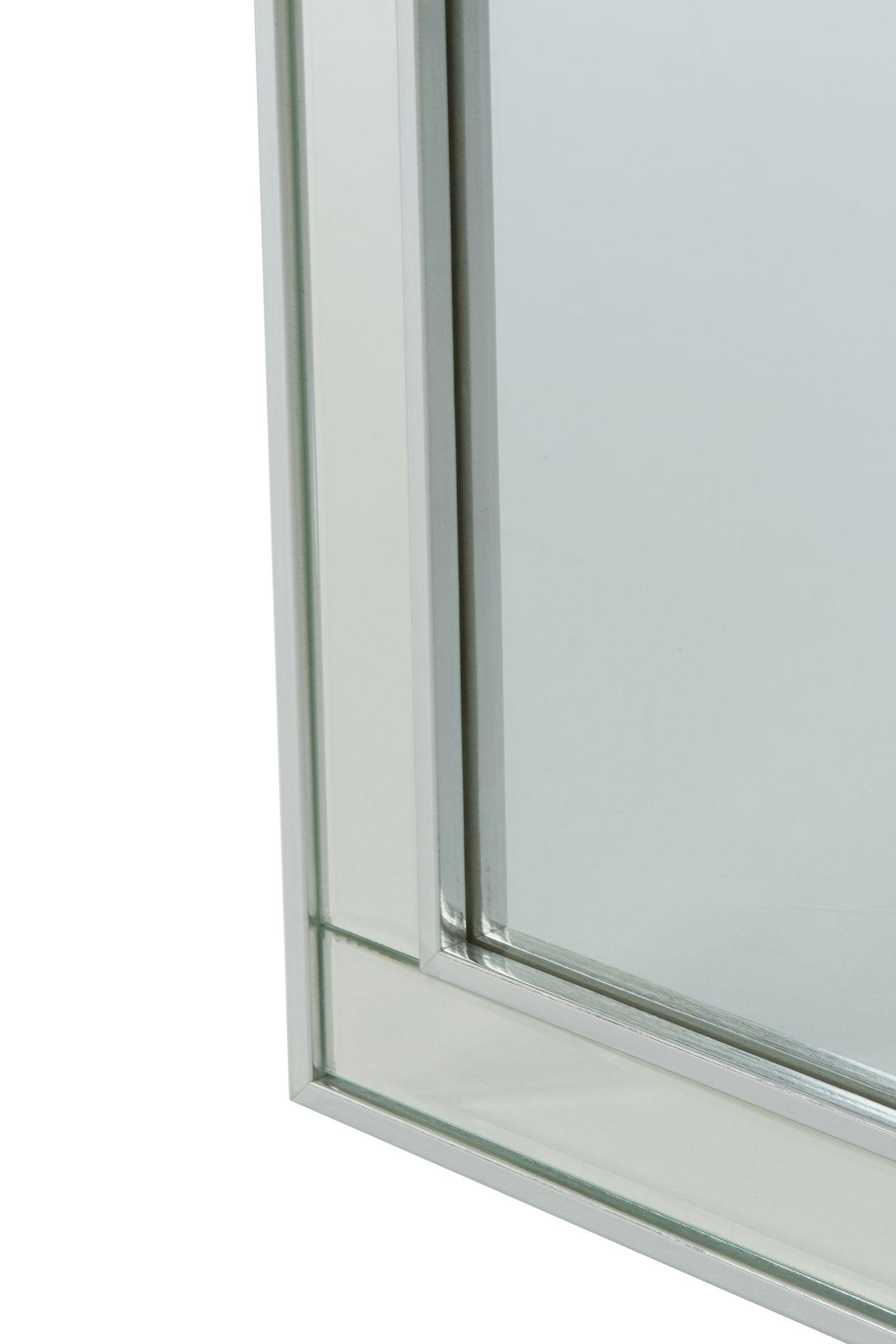 spiegelschrank badschrank silber modern schmuck