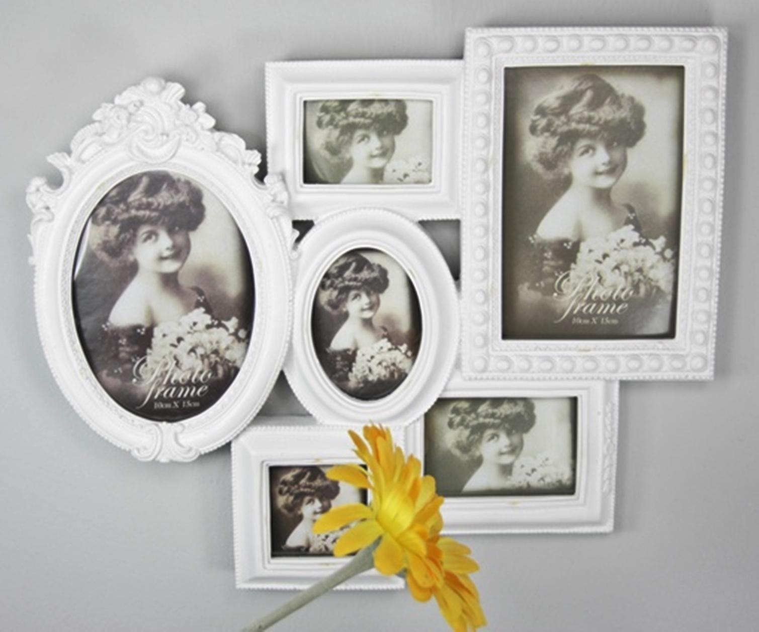 fotorahmen rahmen wei antik collage. Black Bedroom Furniture Sets. Home Design Ideas