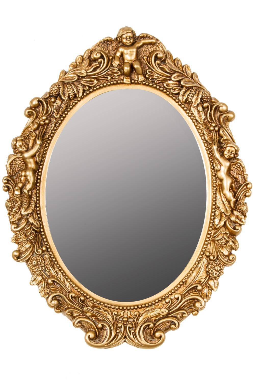 Spiegel Oval Barock Gold Wandspiegel Elbmobel Online Shop