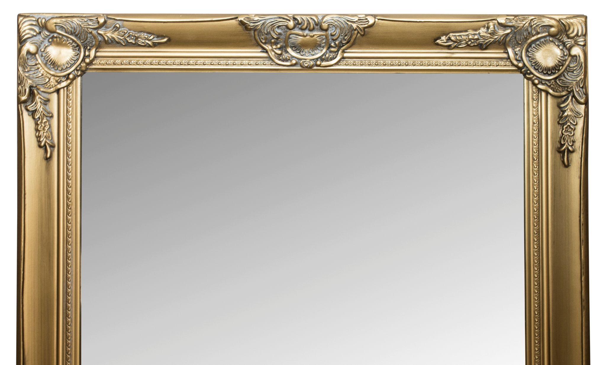 spiegel gold 187cm g nstige landhausm bel online kaufen. Black Bedroom Furniture Sets. Home Design Ideas