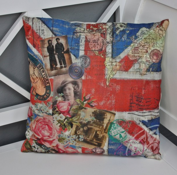 union jack kissen rot blau elbm bel online shop. Black Bedroom Furniture Sets. Home Design Ideas