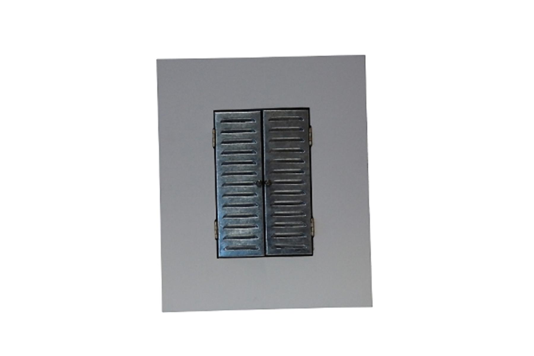 Bilderrahmen weiß Metall Fensterladen | elbmöbel online shop