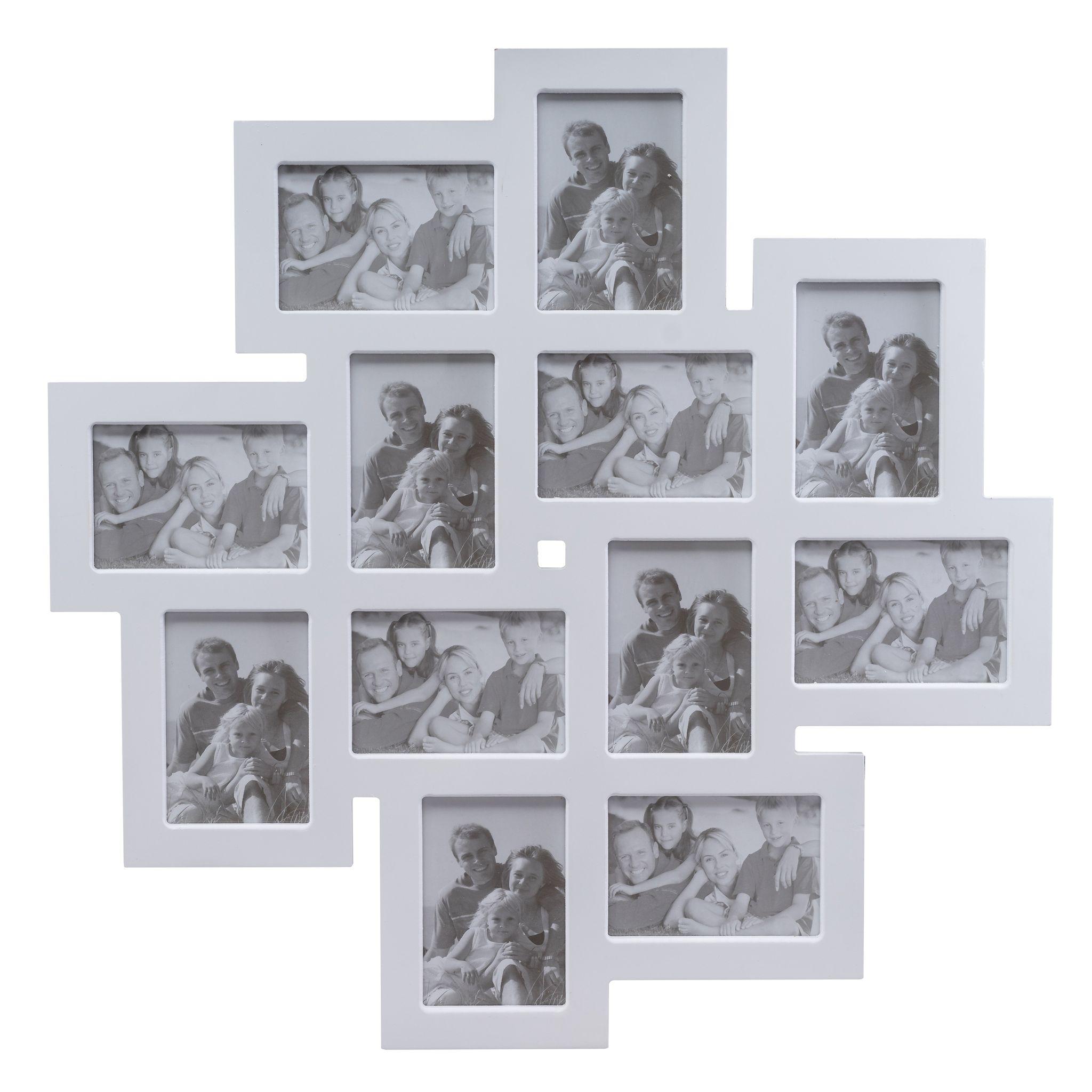 Bilderrahmen weiß Collage | elbmöbel online shop