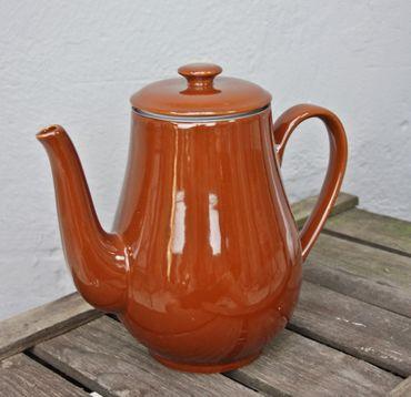 Kaffee Pot braun Schoko