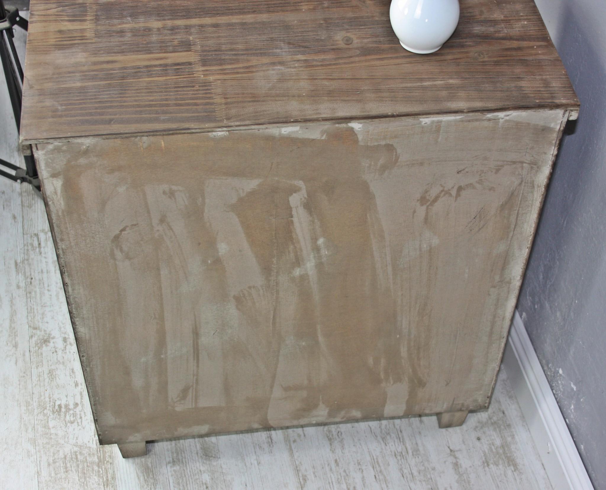 kommode schrank holz wei bunt antik landhaus shabby schubladen massiv 68x60x30. Black Bedroom Furniture Sets. Home Design Ideas