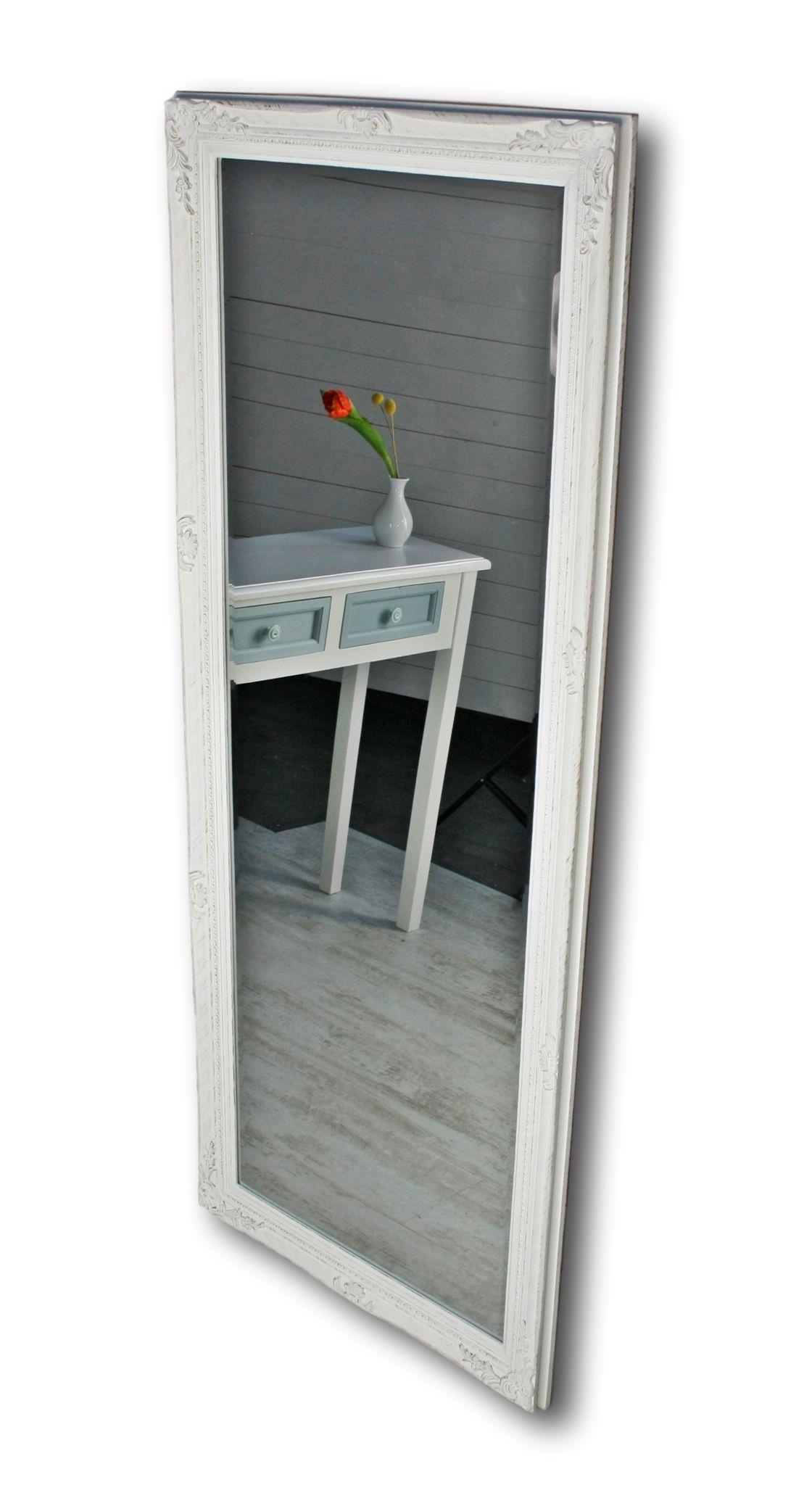 wandspiegel wei antik gro 150cm elbm bel. Black Bedroom Furniture Sets. Home Design Ideas
