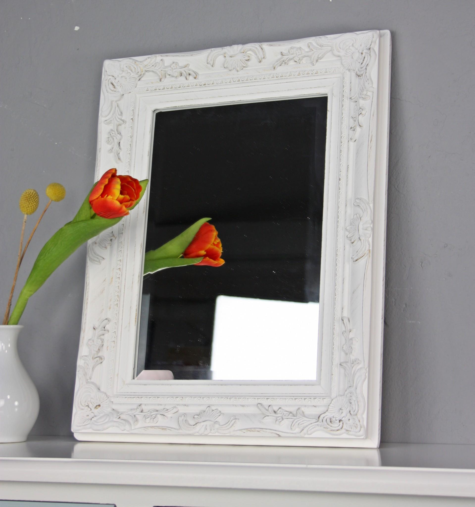 wandspiegel wei antik. Black Bedroom Furniture Sets. Home Design Ideas