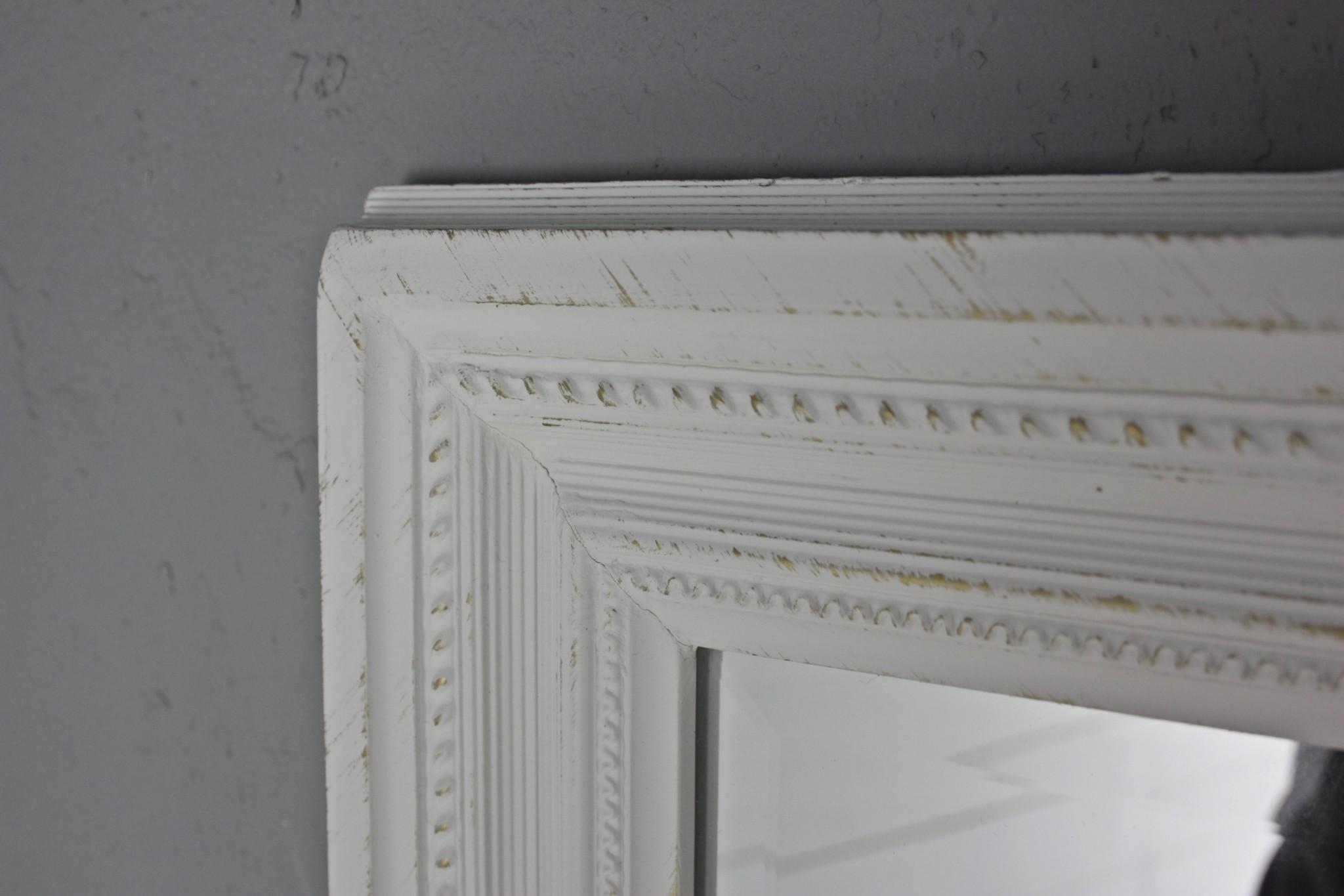 wandspiegel wei landhaus 150cm. Black Bedroom Furniture Sets. Home Design Ideas