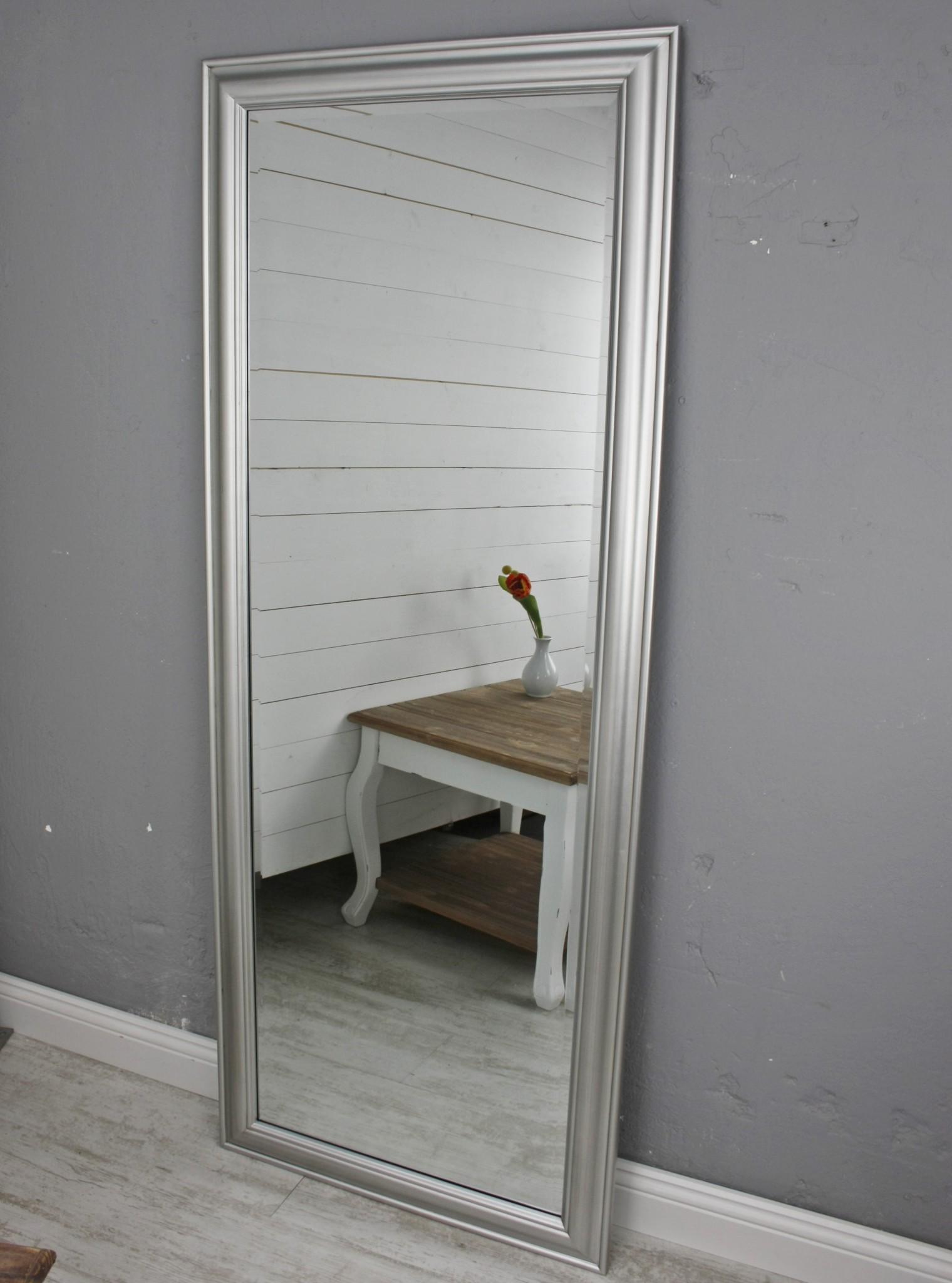 Spiegel Silber Schlicht 150cm Elbmobel