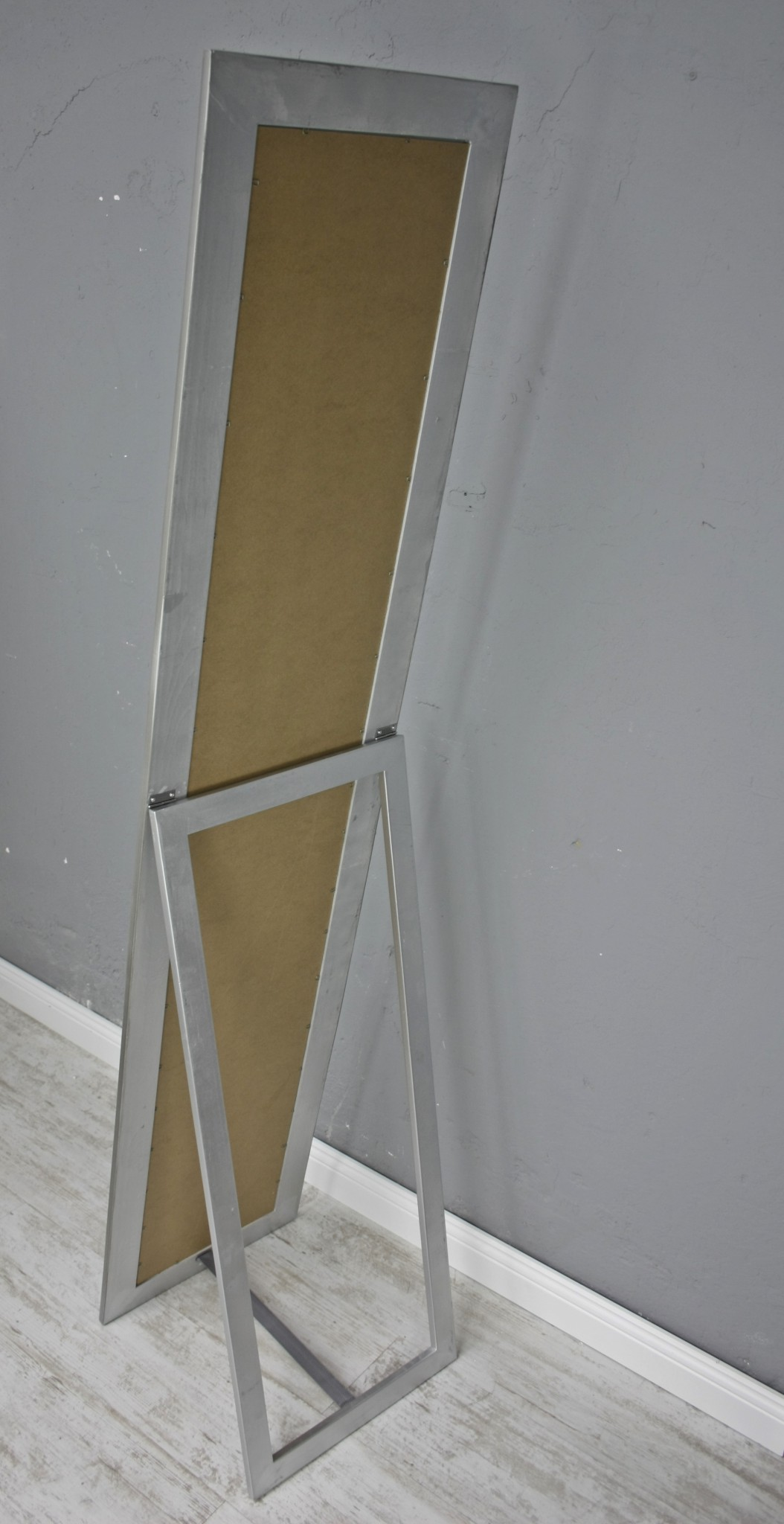 spiegel 180 wandspiegel standspiegel silber holz landhaus. Black Bedroom Furniture Sets. Home Design Ideas