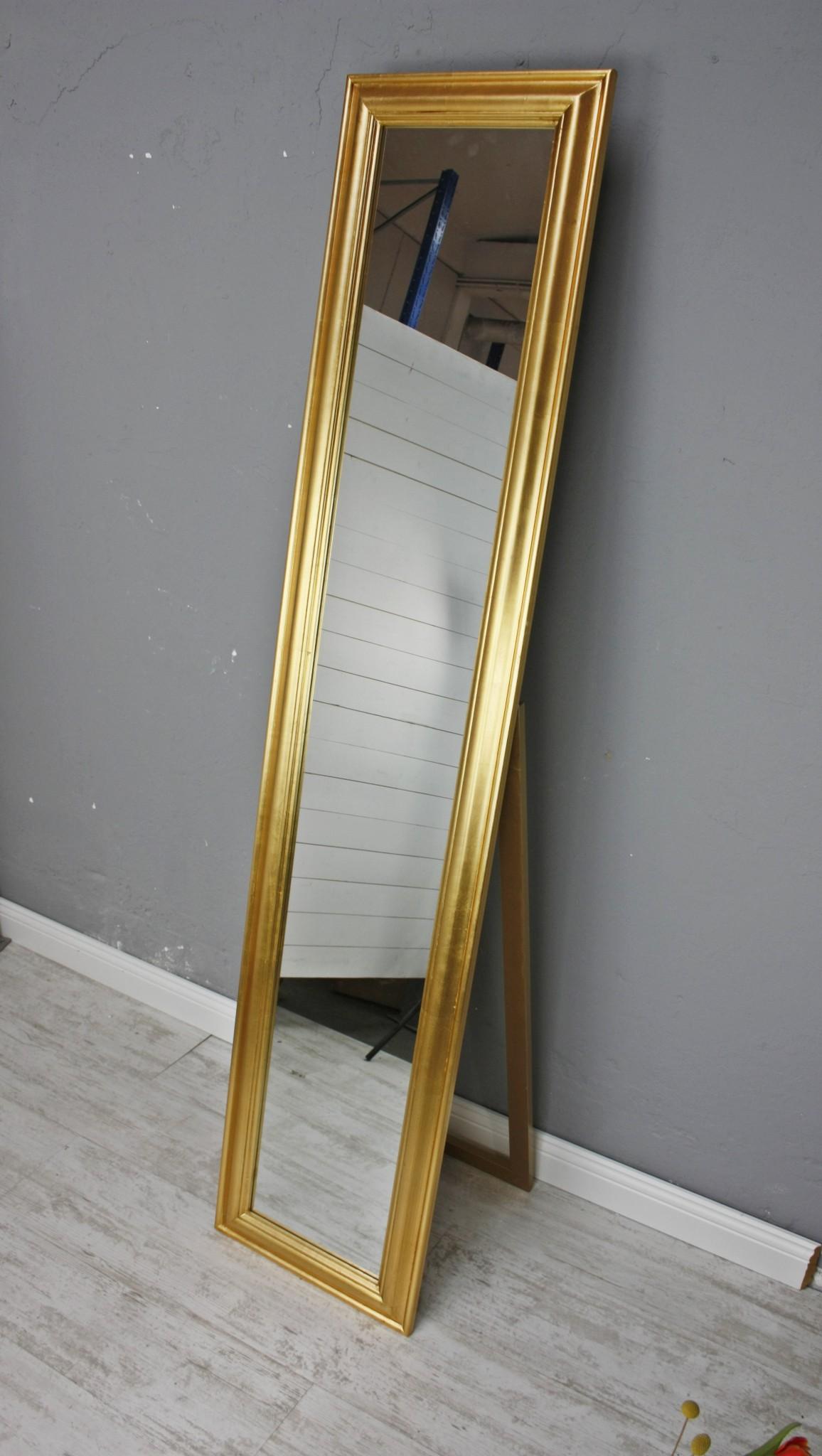 spiegel 180 wandspiegel standspiegel gold holz landhaus. Black Bedroom Furniture Sets. Home Design Ideas