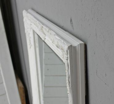 Spiegel weiß 150cm Barock Holz