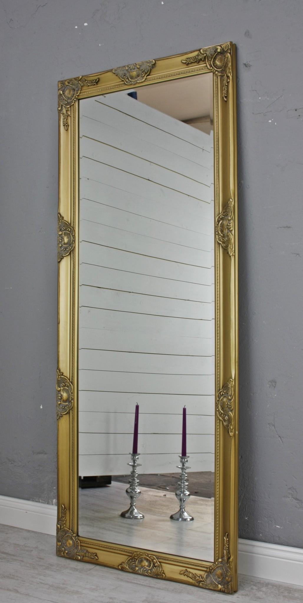 spiegel gold 150cm barock holz. Black Bedroom Furniture Sets. Home Design Ideas