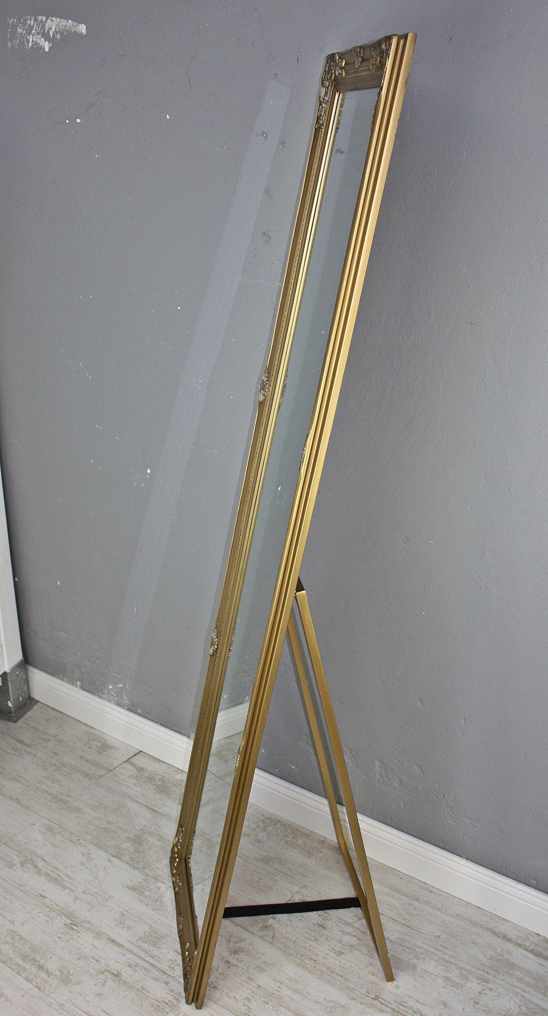 Standspiegel Gold Antik Elbmöbel