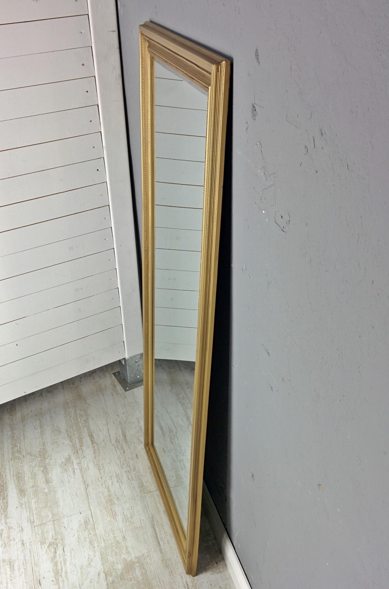spiegel gold landhaus 150x60cm holz wandspiegel barock. Black Bedroom Furniture Sets. Home Design Ideas